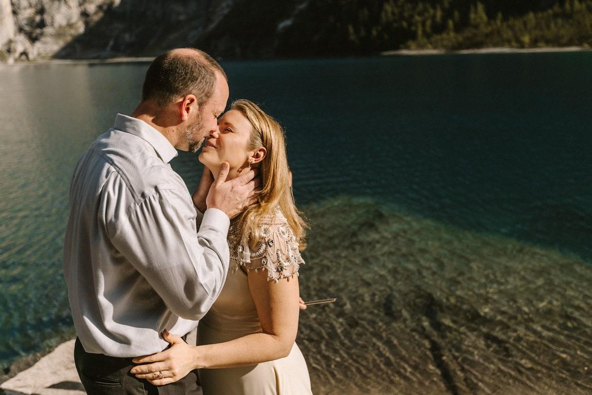 cérémonie de mariage intime