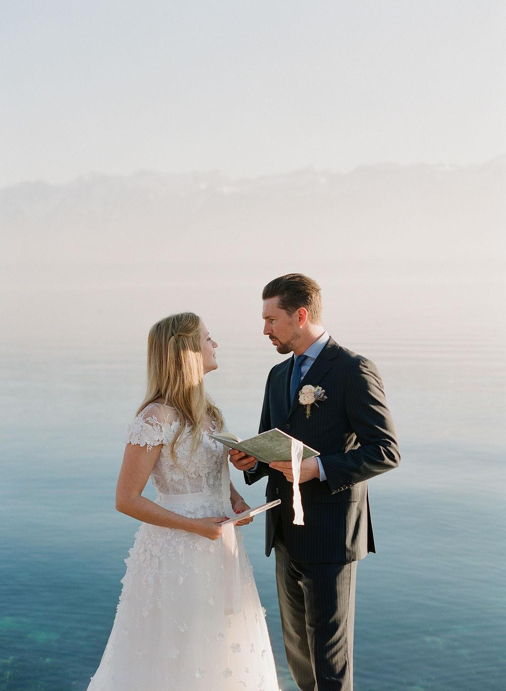 Cérémonie d'elopement en Suisse